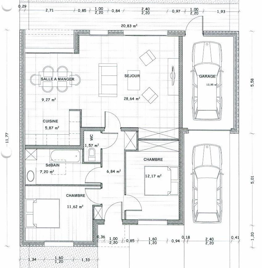 plan maison 130 000 euros